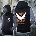New Arrival Unisex Cosplay Costume Tom Clancys The Division Zipper Jacket Sweatshirts Thicken Hoodie Coat Clothing Casual Winter