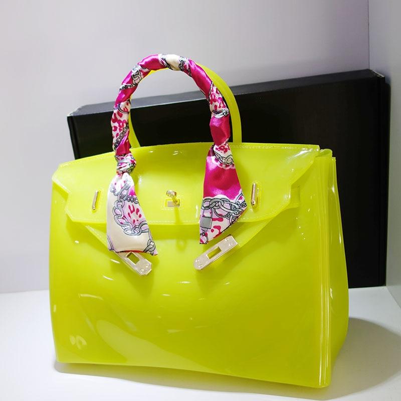 bolsas de luxo mulheres sacolas Estilo : Jelly Handbag