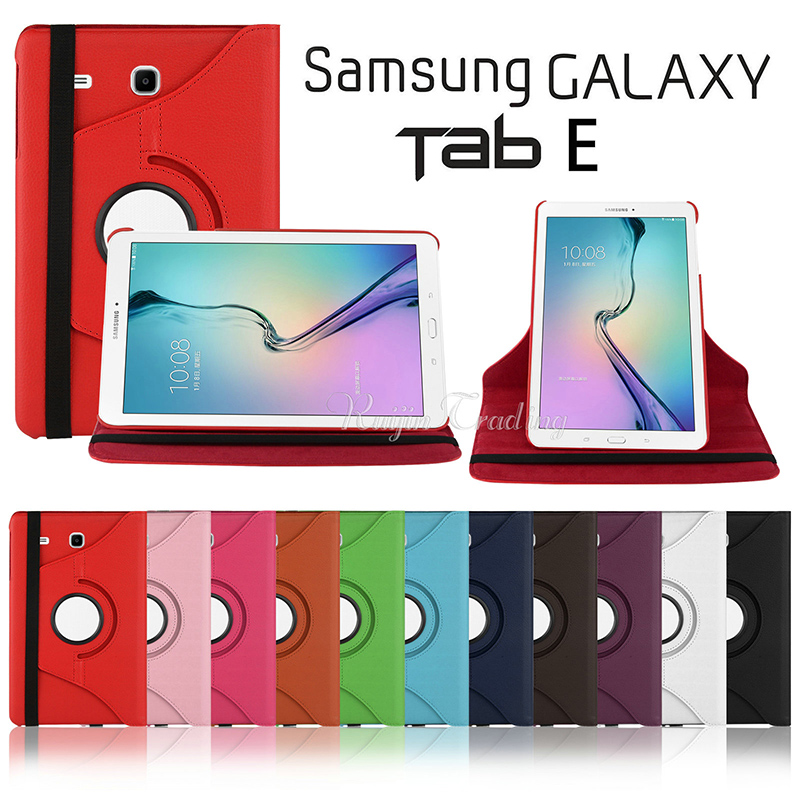 Protective Cover for Samsung Galaxy Tab E 9 6 T560 T561 Tablet Case Luxury 360 Rotating