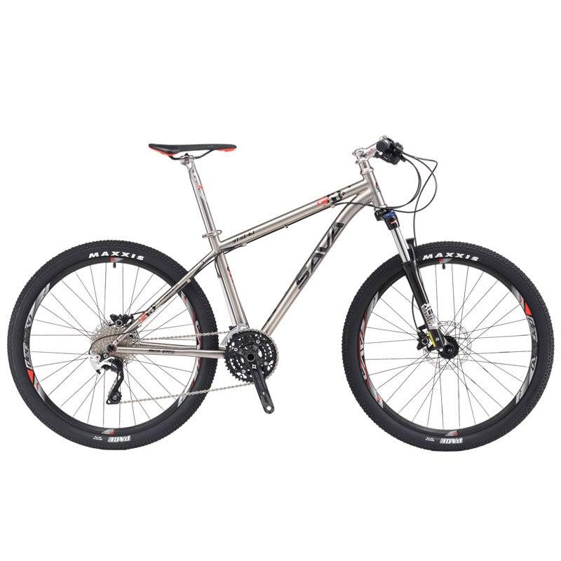 SAVA titane vélo VTT titane cadre vélo 27.5 vtt VTT titane vtt Ti matériel complet vélo Deore