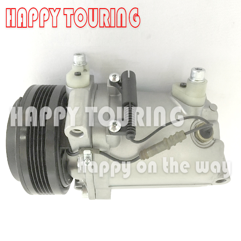 US $121 0 |SS120DL A/C Air Conditioning Compressor 64528386650 64528375319  64526901206 for bmw e46 ac compressor for BMW 3 E46 5 E39 Z3-in