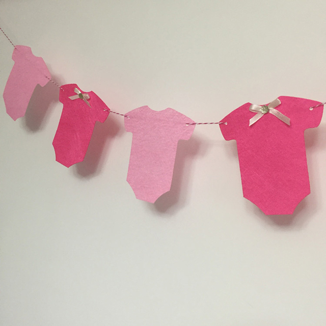 3m cute cloth shape banner pennant garland kids 100 days newborn