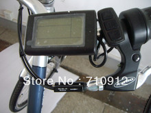 2016 New Style!36V High Quality LCD disply for Electric bicycle