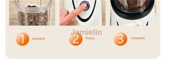 Jamielin Multifunctional Coffee Grinders Grinding Mill Dry Grinding Juice Extractor Food Processor Meat Grinder 2