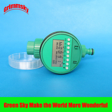 high quality LCD analogue waterproof automatic watering timer