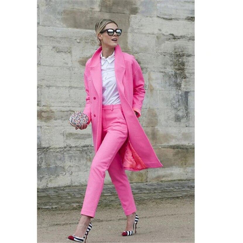 Longues Longueur Pantalon Bureau Manches Picture Style picture Complet Pour Ensemble Costumes Blazer Uniforme Style 2 Style Pièces pict Femme Veste Mode Femmes qvA4wPBq