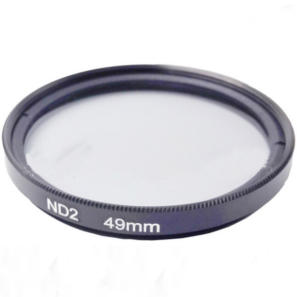 49mm Neutral Density Filter ND2 Filter With Color Package For Camera Lens