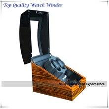 2 + 3 деревянные часы намотки с глянцевой фортепиано краски япония двигателя на день рождения , чтобы муж GC03-S31BZB-A