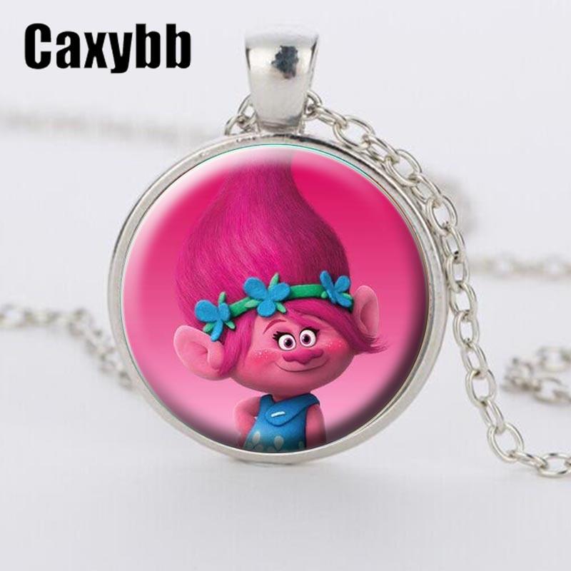 Caxybb New Style of Fairy Fancy Cute Silver Trolls Crystal Ns