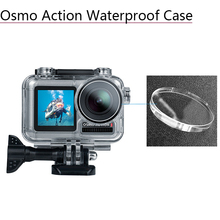 Buy Acrylic Waterproof Housing Case for DJI Osmo Action Diving Protective Box Shell Screw Sports Camera Accessories directly from merchant!