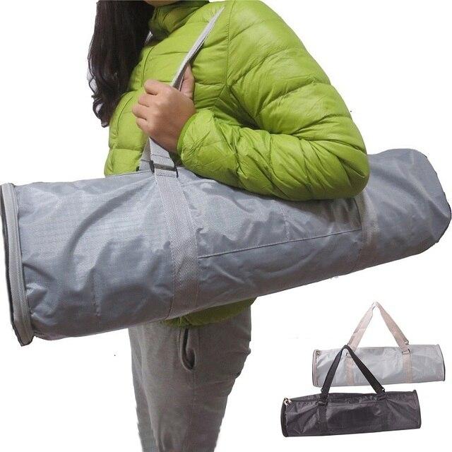 Водонепроницаемый Yoga bag тренажерный зал рюкзак Водонепроницаемый Yoga mat bag yoga Пилатес Мат Сумка Кенгуру для 6-10 мм (Yoga mat не включая)