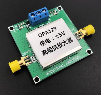 OPA129 Módulo Amplificador de Alta Impedância Eletrodo de Conversão de Sinal I/V Conversão Amplificado Sinal Fraco|Peças p ar condicionado| |  -