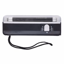 1 pc 2016 Handheld Portable UV Led Light Torch Lamp Counterfeit Currency Money Detector Newest and Best Selling In