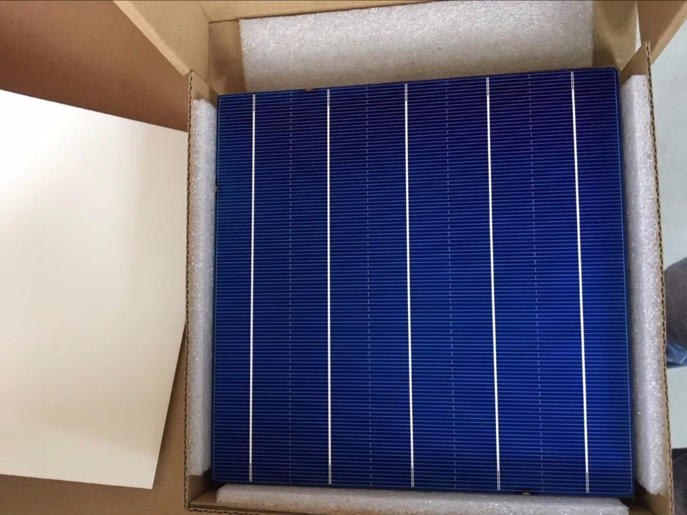 Energia Solar Direct 2019 Promotion 100pcs High Efficiency 4 48w Poly Solar Cell 6x6 for Diy