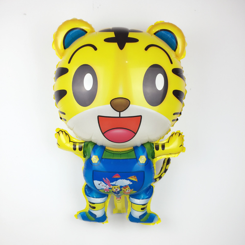 Free Shipping New 1pcs Tiger Aluminum Balloon Children Toy Party Birthday Balloon Wholesale