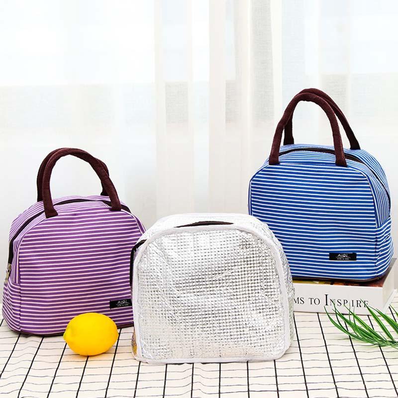 Portable Japonais Isolation Boîtes à bento épaississement sac à Lunch Food bag