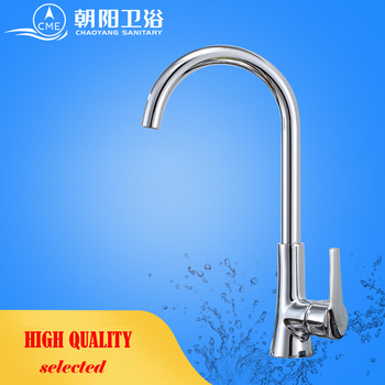 CME ceramic plate spool kitchen faucet deck mounted sink faucet hot and cold water mixer polished chrome basin tap K109