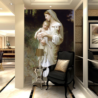 Free Shipping Home Of The World Famous Painting Zhen Heart Personalized Custom Wallpaper Mural Paintings In