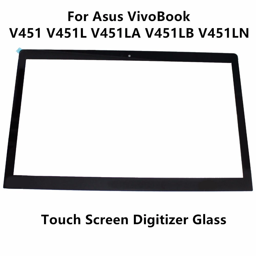 14 For Asus VivoBook V451LN4510 V451LN4200 V451LB-CA099H V451LB-CA032H V451LA 5418R FPC-1 Touch Screen Panel Digitizer Glass touch screen digitizer glass for asus vivobook v550 v550c v550ca tcp15f81 v0 4