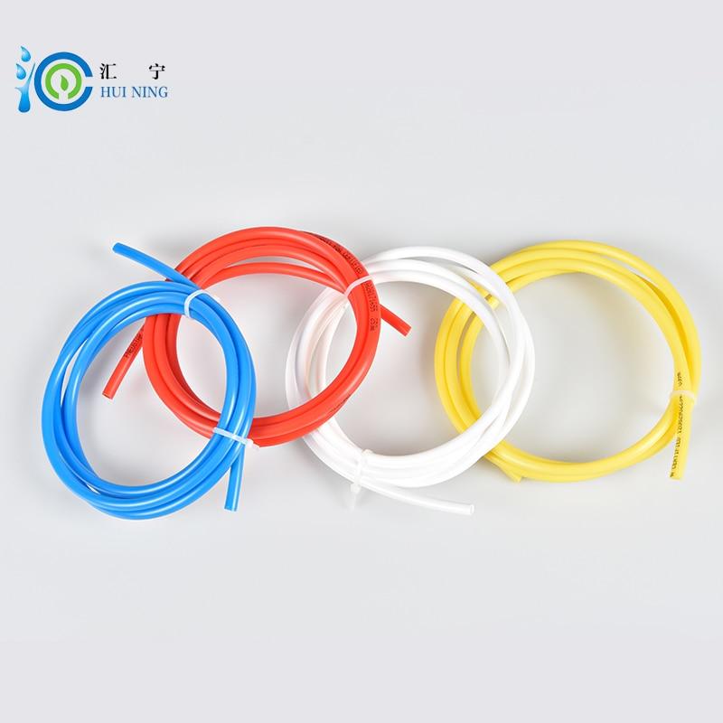 Free Shipping 1/4 inch 4 Pcs Total Length 5 Meter food grade water tube PE Pipe water pipe water filter pipe