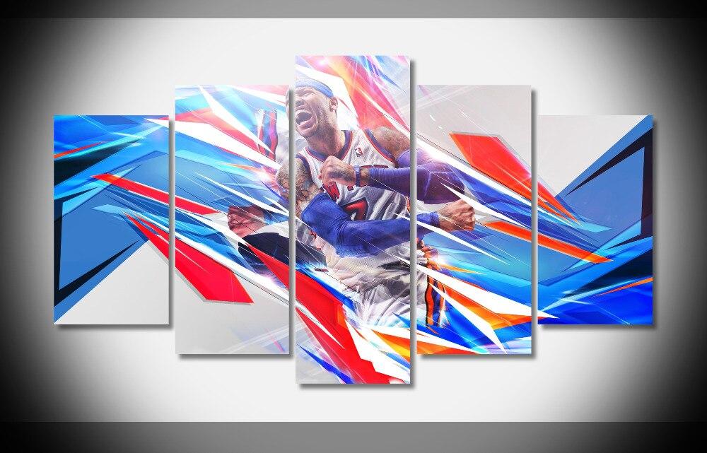 P0237 Кармело Энтони Баскетбол звезда Плакат-защелка галерея wrap art печати домашнего декора стен картину уже чтобы повесить цифровой