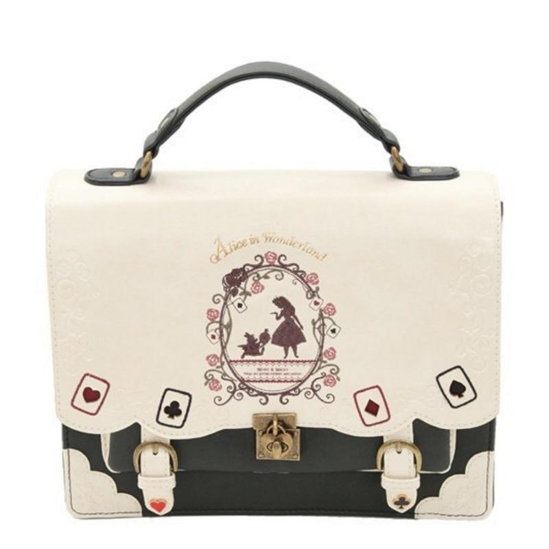 Buyuwant women backpack girl Alice bag in Wonderland school backpack bag women shoulder bag sac a dos Mochila bolsos