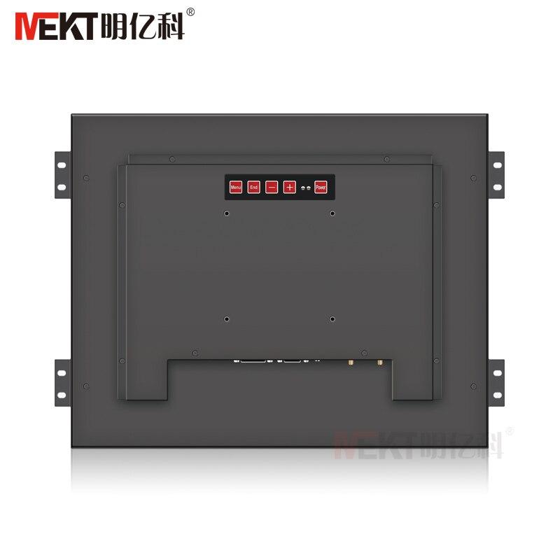 MEKT19/17/12/10. 4/15 дюймов промышленный встроенный сенсорный экран монитор 1024*768/hdmi VGA DVI/DC 12V настраиваемый широкий напряжение - 6