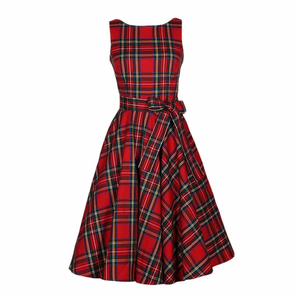 2813 Nuevo Vestido De Fiesta Retro De Los Años 60 De Rockabilly Para Mujer Estilo Británico S L In Vestidos From Ropa De Mujer On Aliexpress