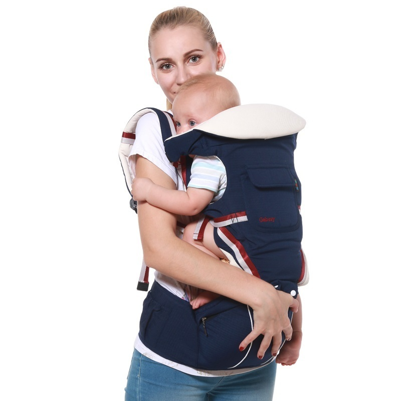 luxury 9 in 1 Baby Carrier Ergonomic Carrier Backpack Hipseat for newborn and prevent o-type legs sling Baby Kangaroos new born