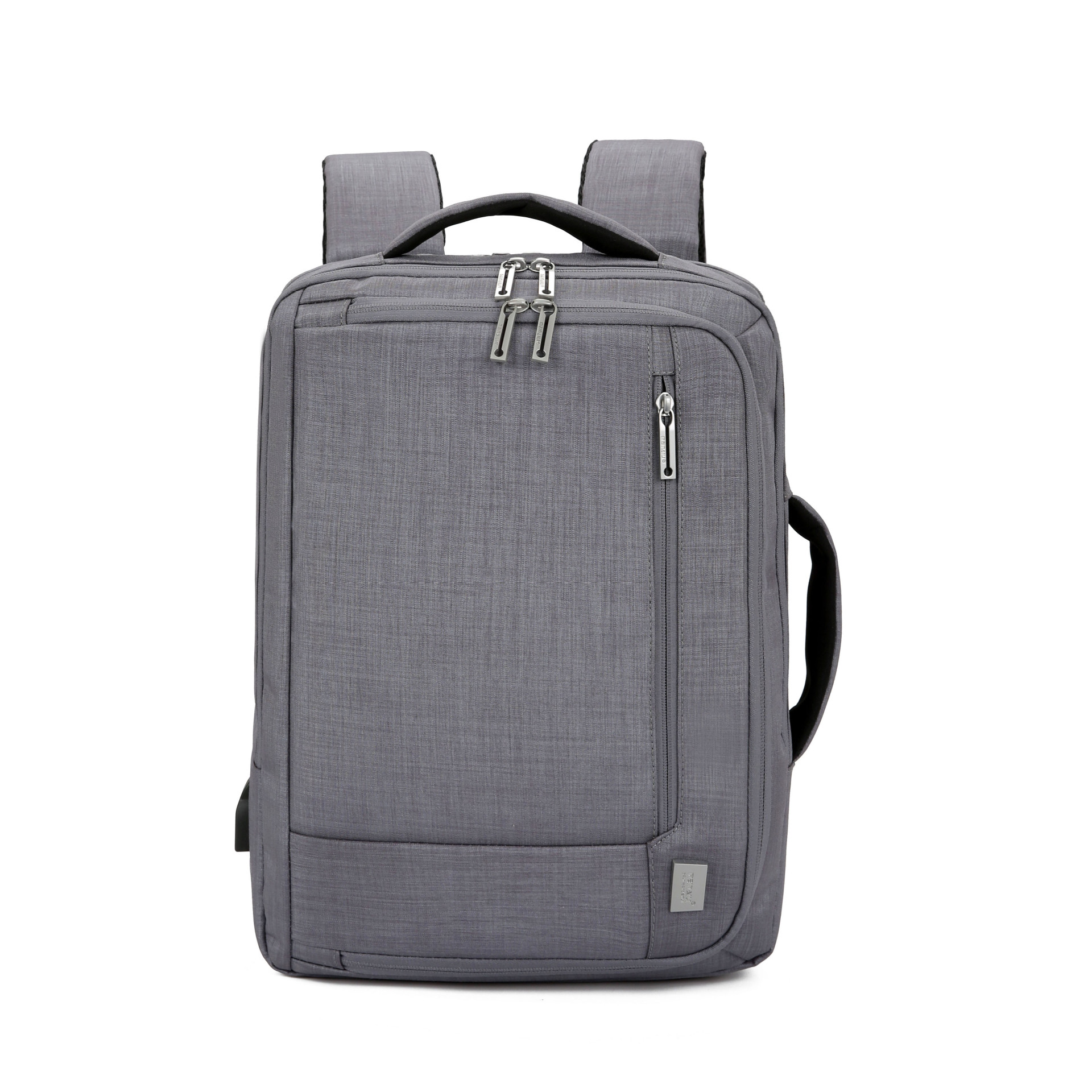 J&q Store New Usb Rechargeable Laptop Bag Style Men's Large-capacity Business Travel Backpack Multifunctional Travel Bag