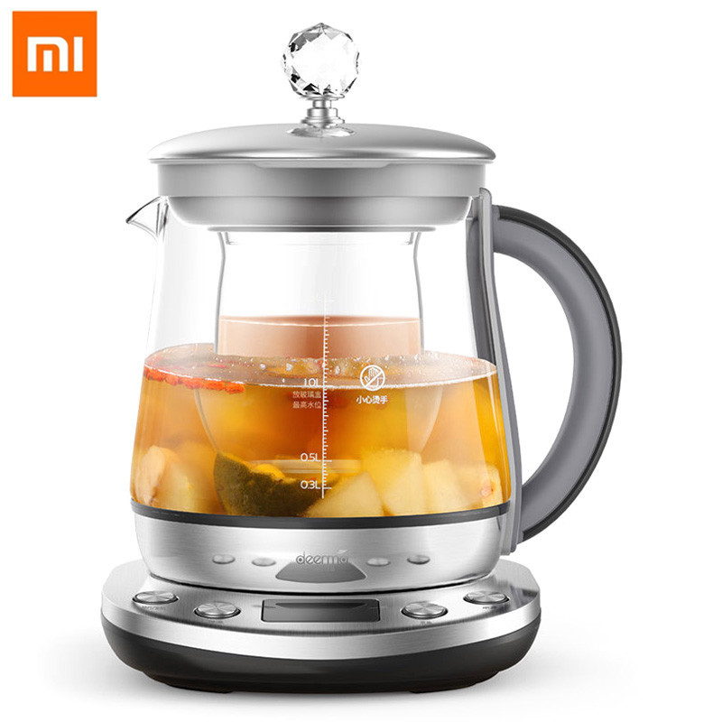 Xiaomi Mi 1.5L Multifunction Kettle Deerma DEM-YS802 Multifunction Stainless Steel Electric Health Pot Kettle From Xiaomi Youpin