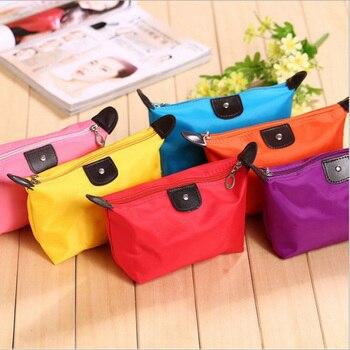 Las mujeres neceser de viaje maquillaje cosmético bolsa bolso de embrague bolsos caso bolsa Cosmética Maquillaje bolso organizador