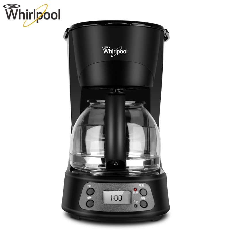American Coffee Machine Fully Automatic Drip Coffee Pot 24H Appointment Intelligent Temperature Control LCD Display household intelligent coffee machine fully automatic american style coffee pot drip type coffee machine automatic power off