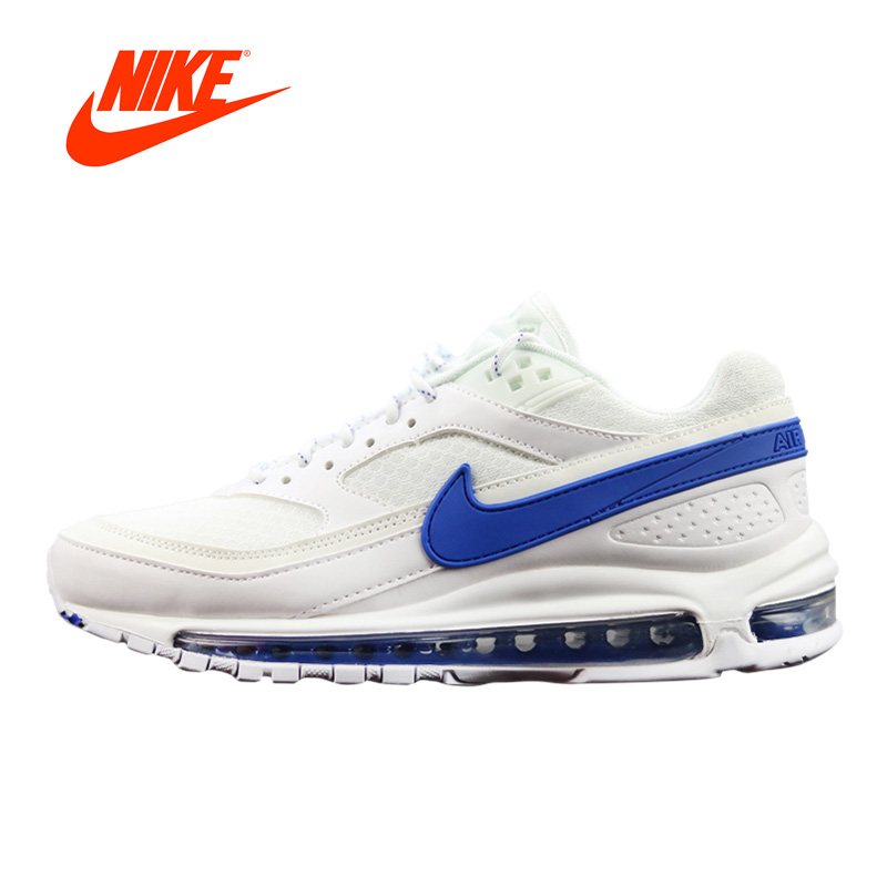 Original New Arrival Authentic Nike Air Max 97 BW X Skepta Men's Running Shoes Sport Outdoor Sneakers Good Quality AO2113-100 original new arrival authentic off white x nike air max 97 menta men s running shoes sport sneakers good quality aj4585 101