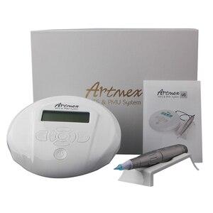 Image 3 - Artmex Machine à tatouer rotatif V6, pour maquillage Permanent, appareil de Micropigmentation, pour sourcils, stylo dermatologique