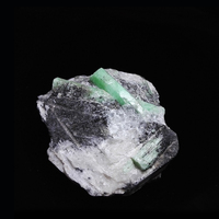 590g NATURAL Emerald quartz crystal stone ore Mineral samples collection Z5 71