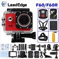 "Action camera F60 / F60R Allwinner V3 4K / 30fps WiFi 2.0"" 170D go Helmet Cam pro underwater waterproof Sport camera"