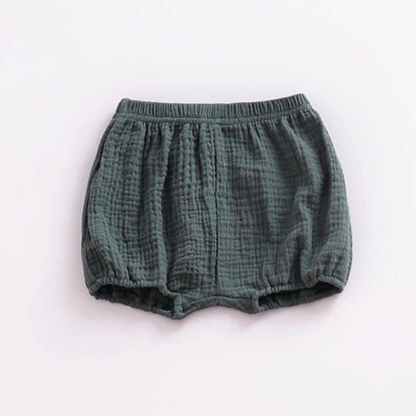 3ad4e6c5081a ... 2018 Baby Girls BOYS Summer Shorts Linen Cotton Kids Outfits Children  Clothing Newborn Comfortable Toddler PP ...