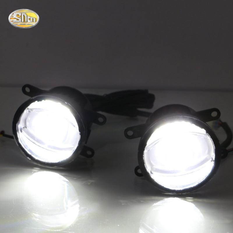 SNCN LED Multifunctional LED Fog Lamp for Mitsubishi Outlander ES SE SEL GT 2015 2016 2017