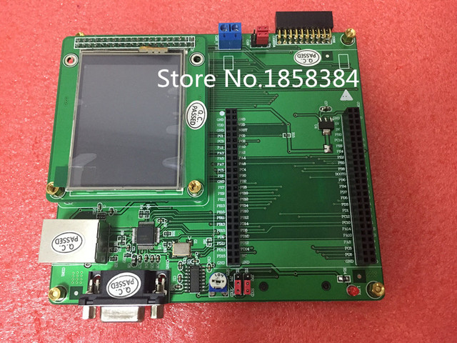 US $52 0 |Free shipping STM32F4Discovery Expansion board / RS232 LCD touch  SD CAN STM32F407-in Connectors from Lights & Lighting on Aliexpress com |