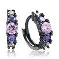 2016 Earrings Trendy Wholesale New Hot Sale jewellery Fashion purple zircon Jewelry for women