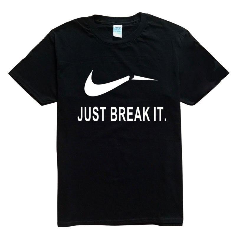 2016 Camisetas Homme Verão preto mangas curtas T-Shirt Dos Homens O-pescoço  tshirts Moda Algodão camiseta Da Marca na Moda 48b12a004c0b9