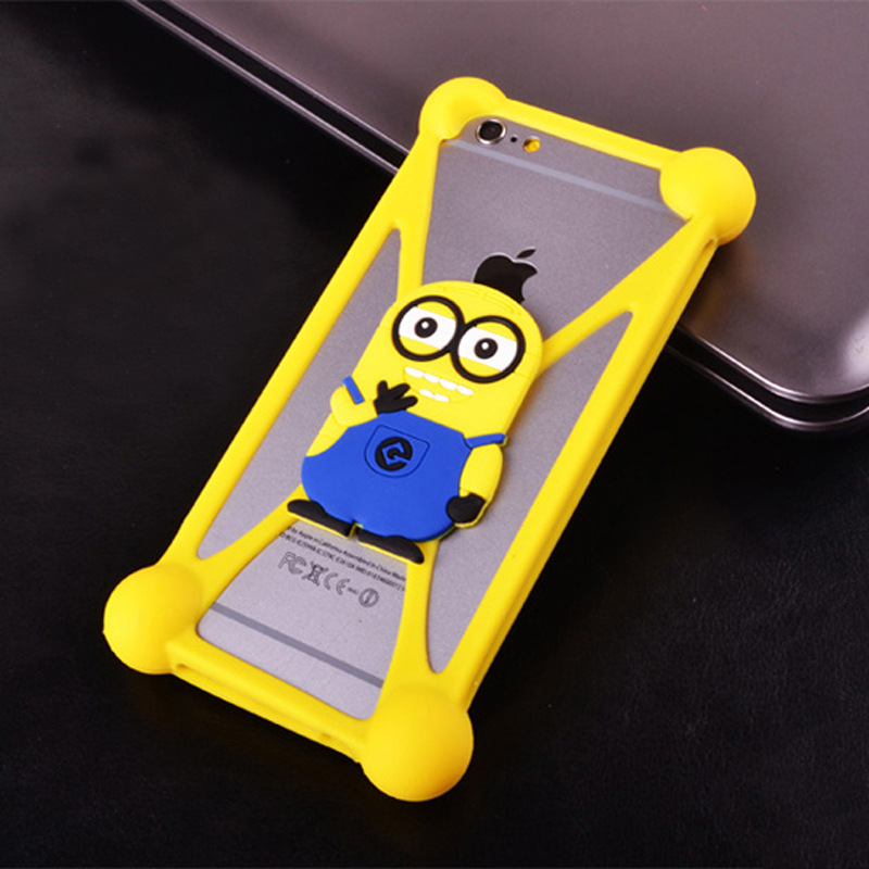 Anti-knock 3D Cute Cartoon Soft Silicone Case For Prestigio 3400 3530 5455 3450 4055 5450 5454 Duo Pap 7500 And for Other Phones