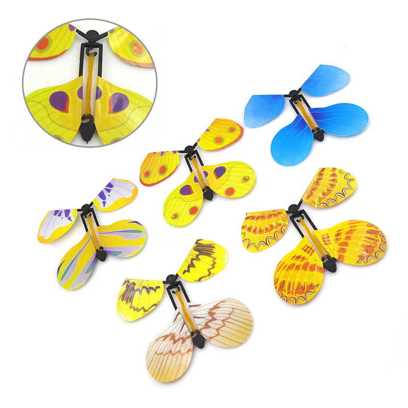 Новые странные Волшебные Игрушечные лошадки открытка Magic эксклюзивный полет бабочки работать с семь магический эффект