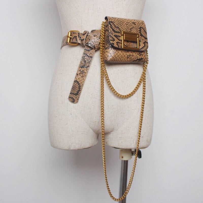 Women PU Buckle Belt With Small Pocket Match Sweater Coat Dresses Female Waistband Fashion Waist Belts  Cummerbunds D950