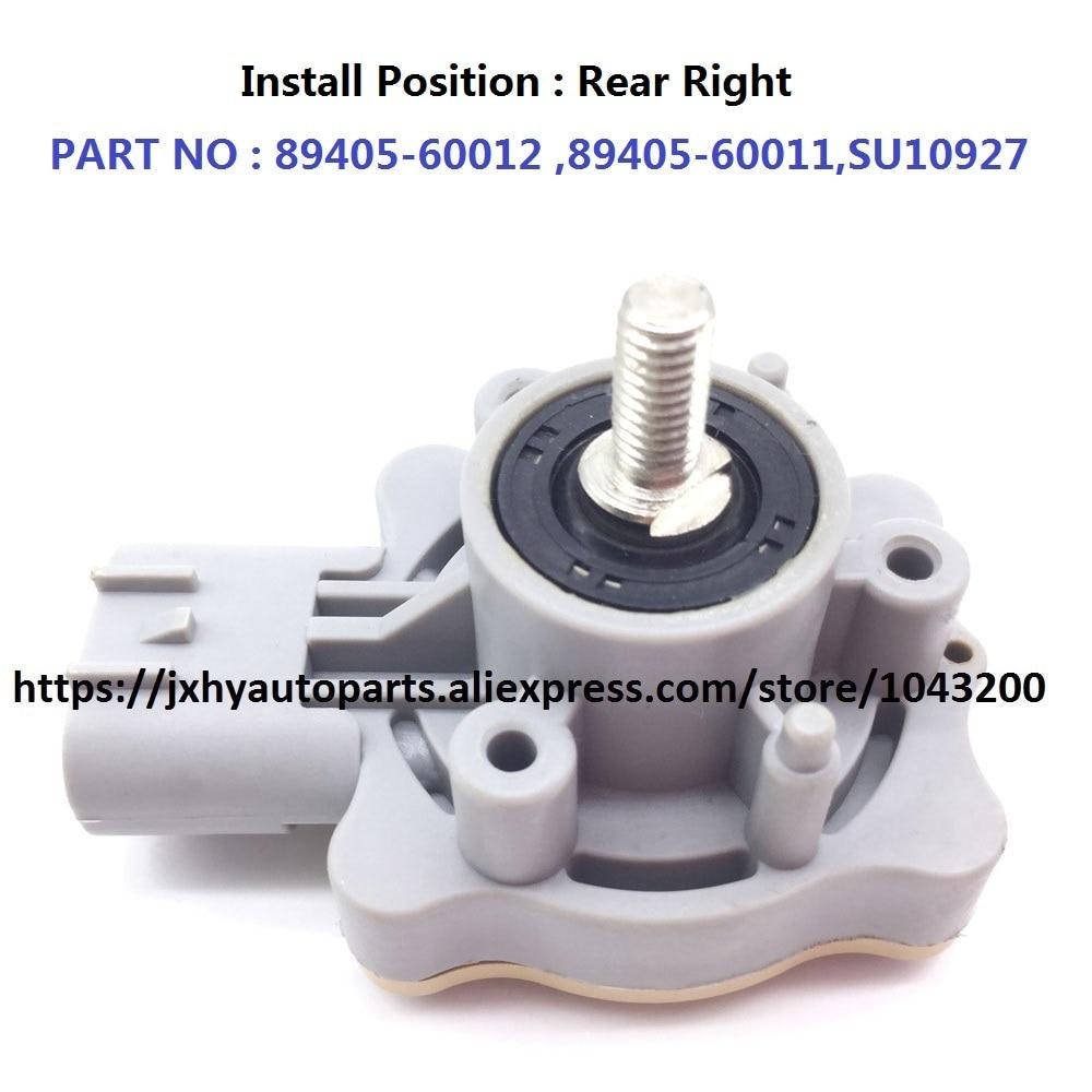 89405-60012 Nieuwe Auto Koplamp Niveau Achter Sensor/hoogte Hight Sensor 89405-60011 Voor Toyota Land Cruiser 4.7l V8 2007 Speciale Zomerverkoop