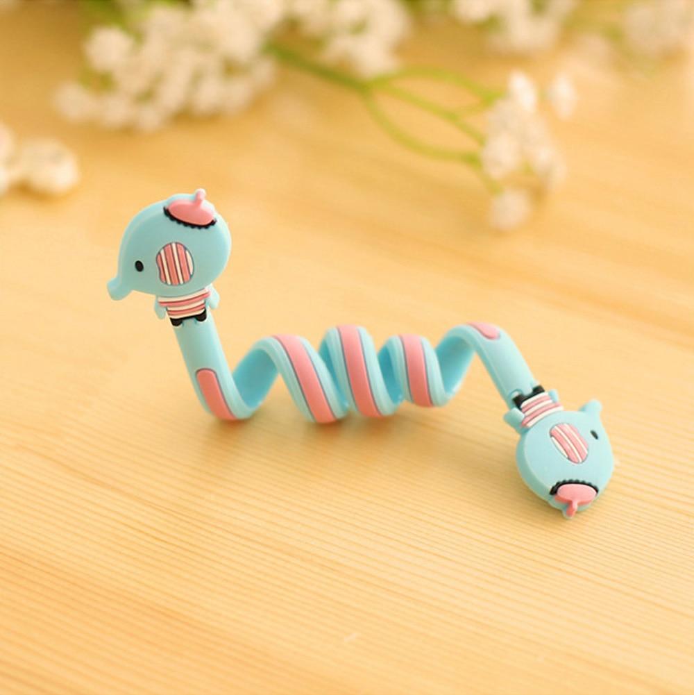 CUSHAWFAMILY милые Мультяшные животные моталки ушной механизм для хранения линии концентратора многофункциональные кабели для получения сумки клип - Цвет: Style 5