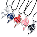 Alloy FAIRY TAIL Anime Action Figure Cosplay Cute Cartoon 5 Colors Fairy Tail Guild Logo Pendant  Necklace Kids Toys ASB40