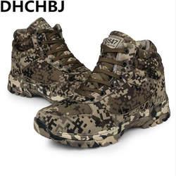 Зимние армейские ботинки, мужские специальные военные ботинки, уличные тактические ботинки, камуфляжные ботинки для тренировок, шерстяные