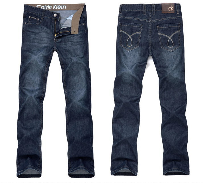 2015 new Korean winter thick section 100% cotton jeans straight cylinder brand menswear - tu yuling's store